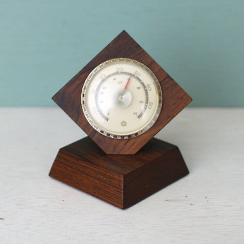 DENMARK ROSEWOOD THERMOMETER