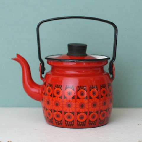 FINLAND ARABIA(FINEL) ENAMEL SMALL KETTLE