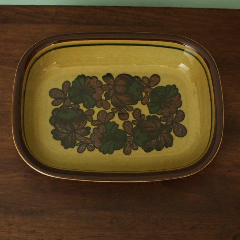 ARABIA FINLAND Otso OVAL LARGE OVEN BOWL