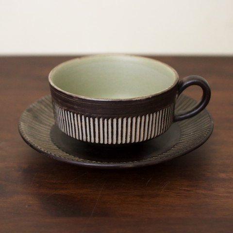 DENMARK BR TEA CUP&SAUCER