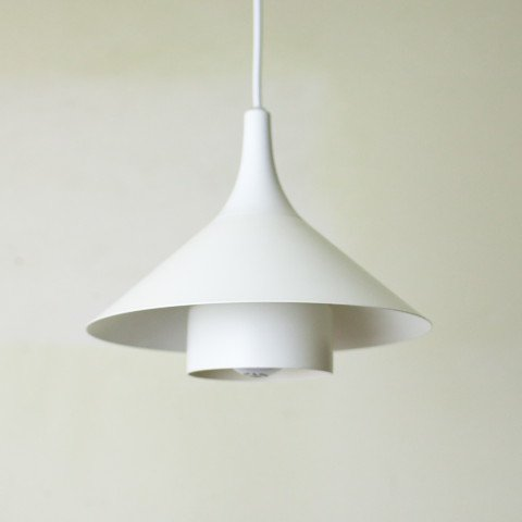 DENMARK El-Light MILKY WHITE 2 SHADES LAMP