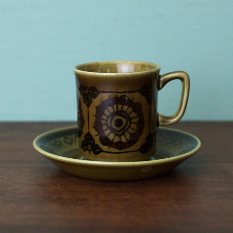 NORWAY STAVANGERFLINT SERA COFFEE CUP&SAUSER