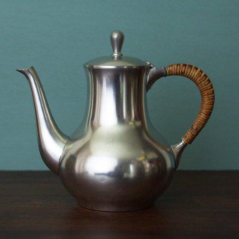 HOLLAND JEKA TIEL PEWTER TEA POT