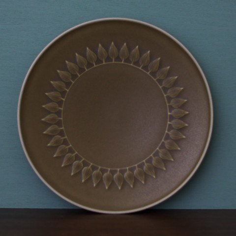 DENMARK B&G RELIEF LARGE PLATE(DARK COLOR)