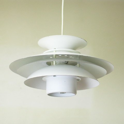 DENMARK MILKY WHITE 6 SHADES LAMP