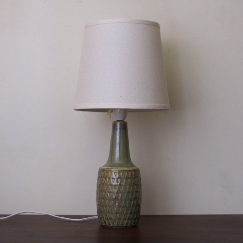 DENMARK SOHLM LT.MOSS GREEN CERAMIC TABLE LAMP