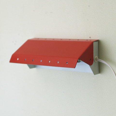 DENMARK WARM RED STEEL WALL LAMP