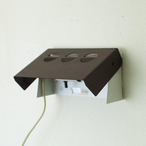 DENMARK BROWN STEEL WALL LAMP