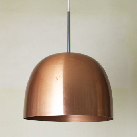 DENMARK LYLA COPPER ROUND FORM LAMP