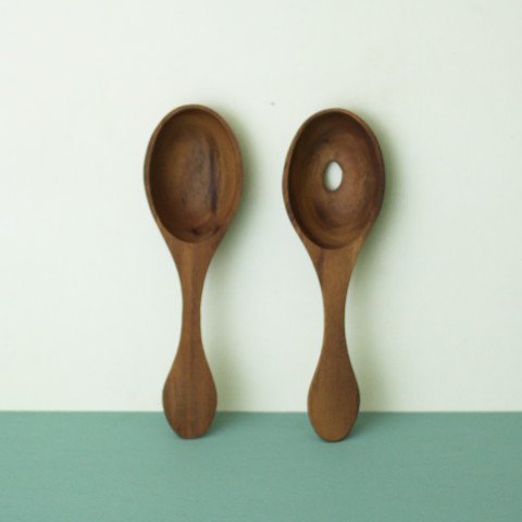 SWEDEN SAGAFORM WOOD SALAD SERVER
