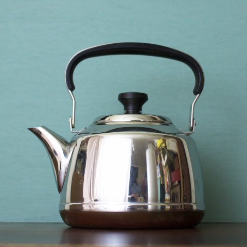 NORWAY POLARIS STAINLESS/COPPER KETTLE