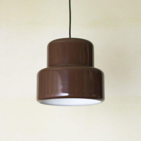 DENMARK FOG&MORUP DK.BROWN POKER LAMP (B)