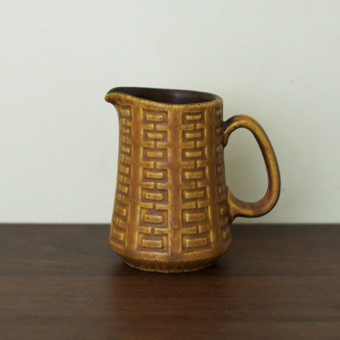 W.GERMANY CERAMANO BROWN CREAMER