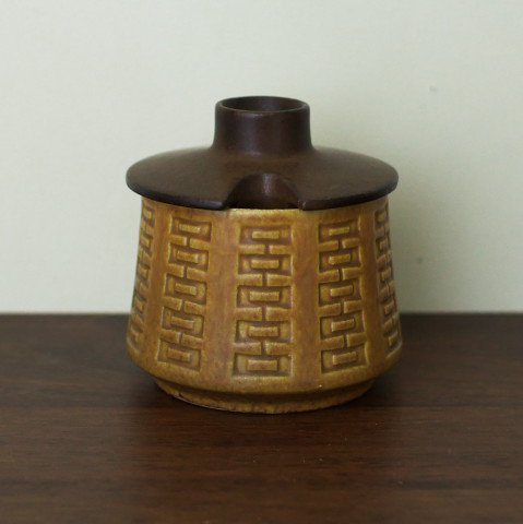 W.GERMANY CERAMANO BROWN SUGAR POT