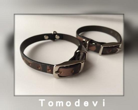 本革シンプル首輪・10mm(Made in Italy...