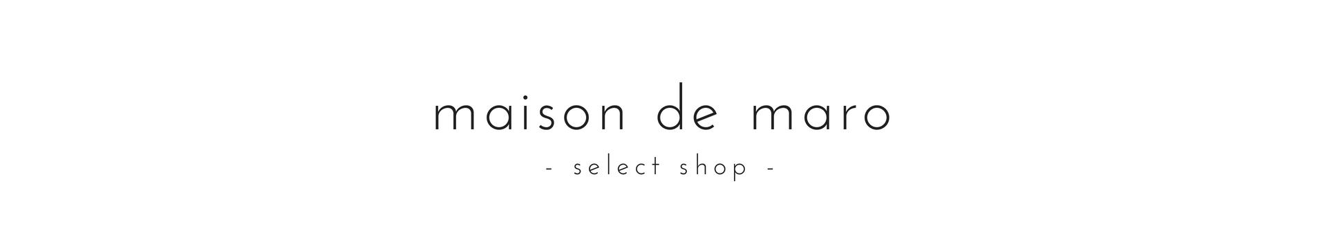 大人のためのファッション通販 - maison de maro