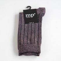 mp Denmark メタリックソックス ストライプ ピンク