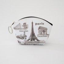 Parisのお土産 ビニールポーチ S (A)