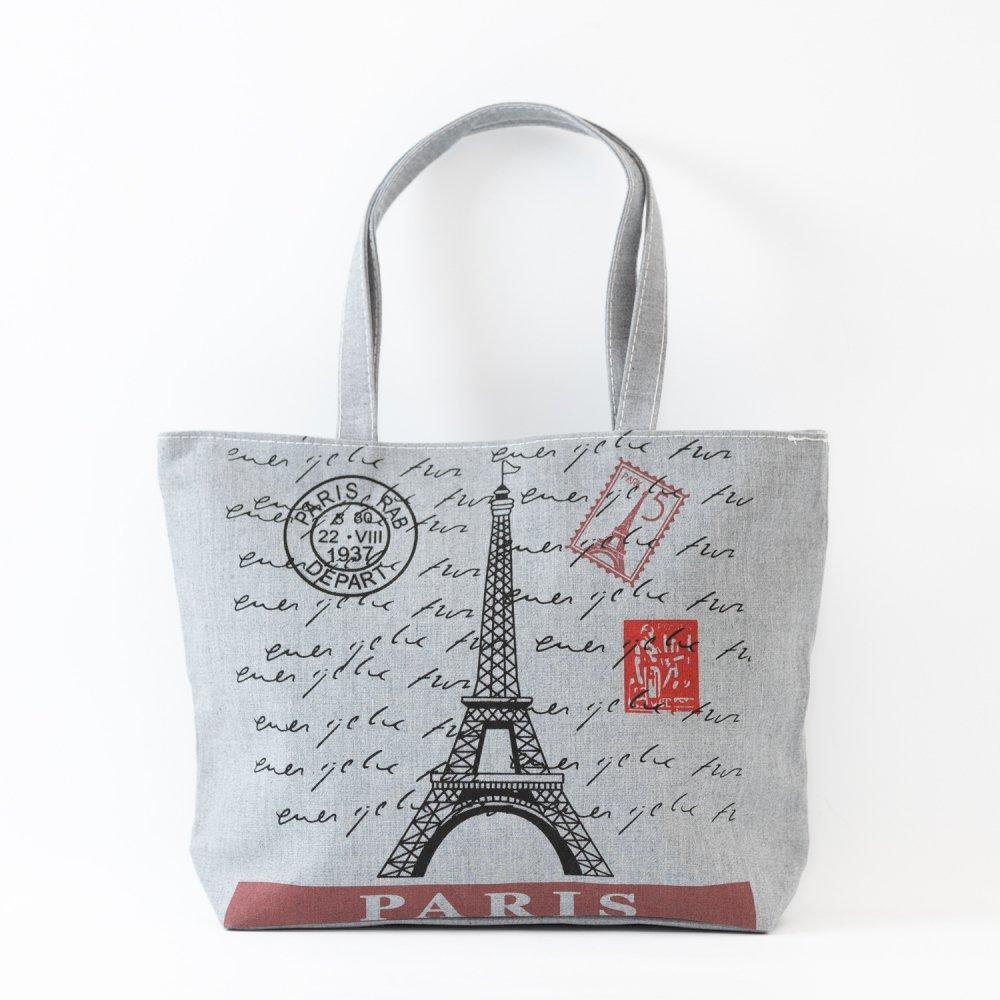 Parisのお土産 コットントートバッグ C