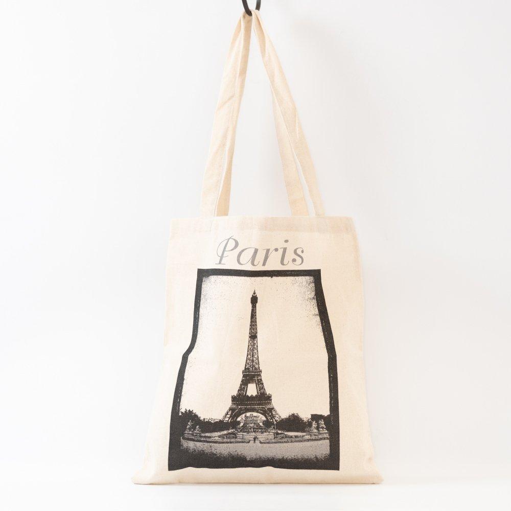 Parisのお土産 コットンエコバッグ B