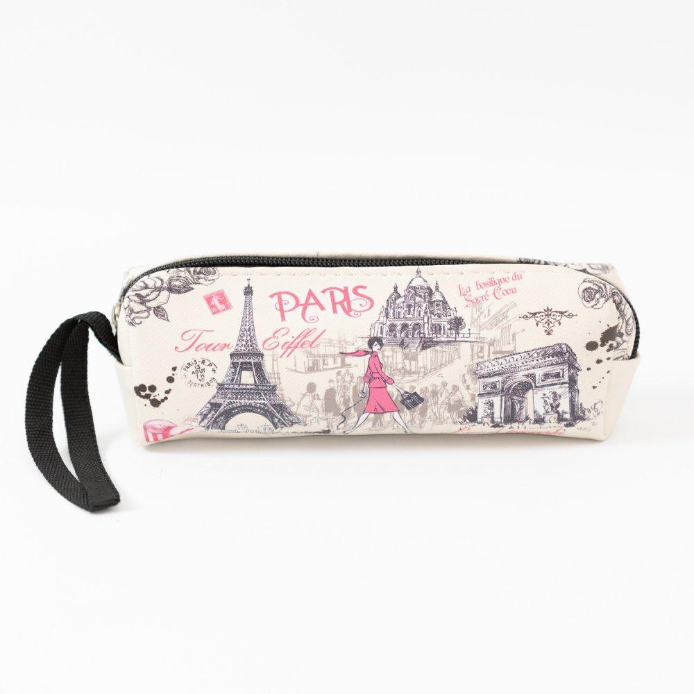 Parisのお土産 PVC素材ペンケース B