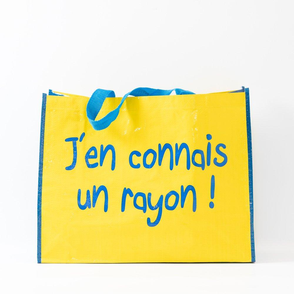 Parisのお土産 パリのスーパーお買い物バッグ