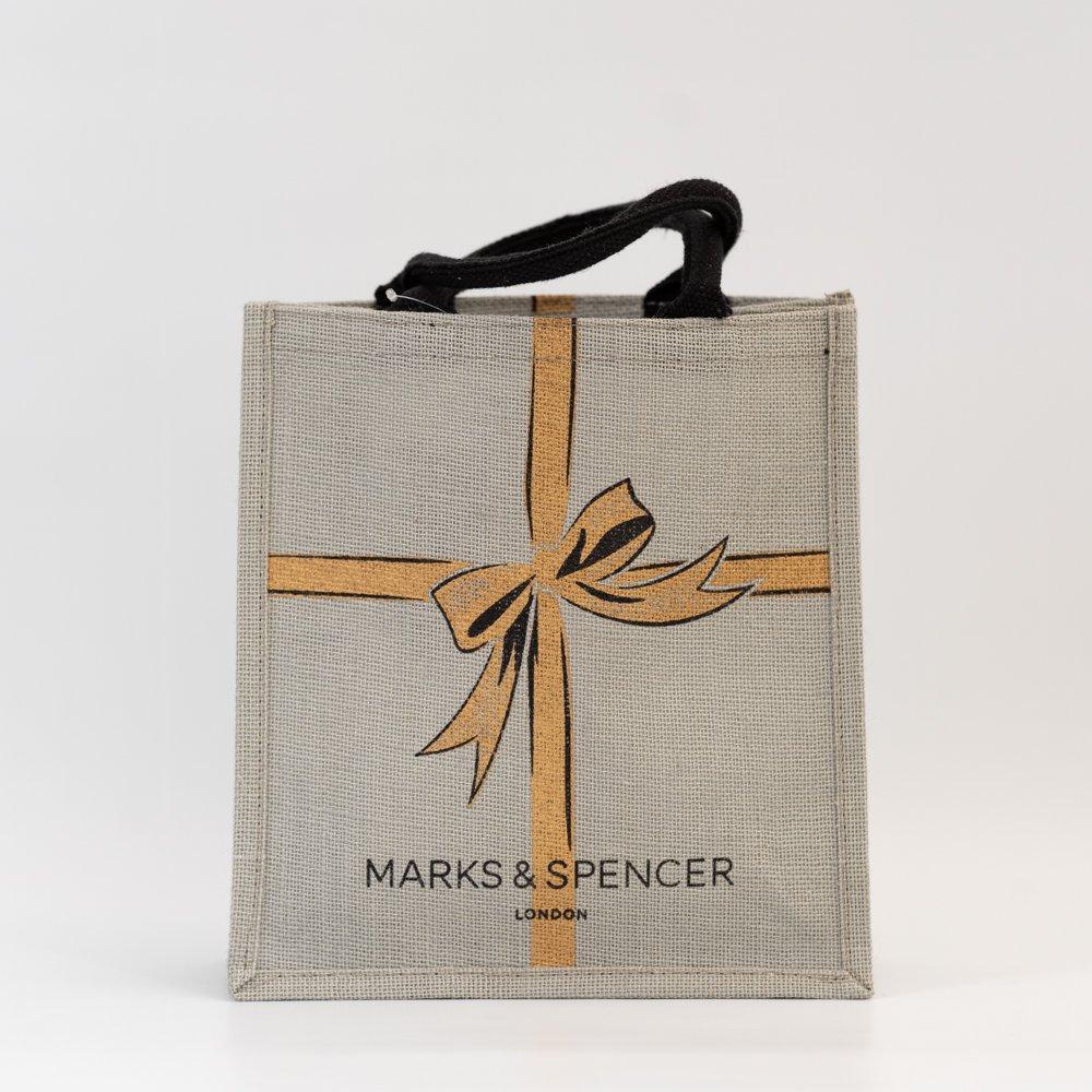 MARKS&SPENCER ジュートのバッグ