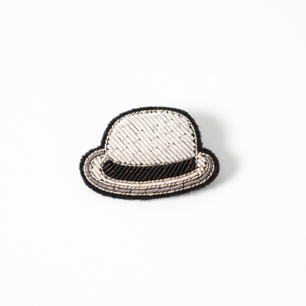 <img class='new_mark_img1' src='https://img.shop-pro.jp/img/new/icons57.gif' style='border:none;display:inline;margin:0px;padding:0px;width:auto;' />MACON&LESQUOY Silver Bowler Hat