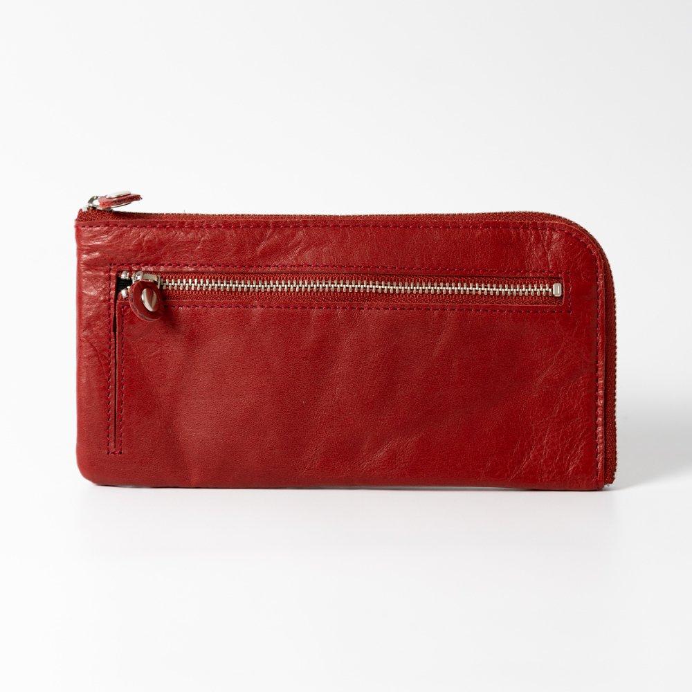 les basiques 長財布 RED