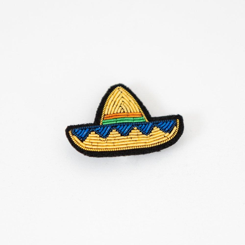 MACON&LESQUOY  Mini Golden Sombrero