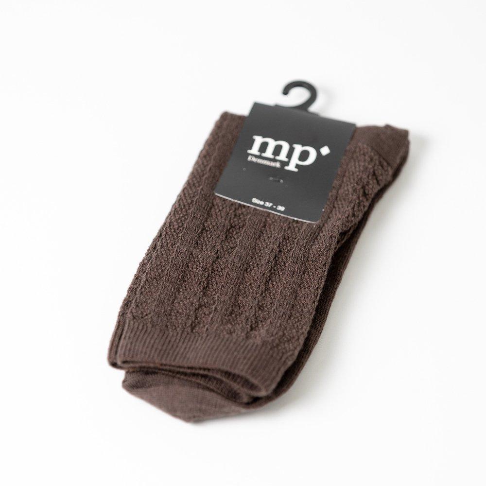 mp'Denmark 59531 ウール混 dark brown