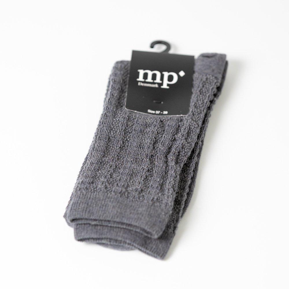 mp'Denmark 59531 ウール混 dark grey mel