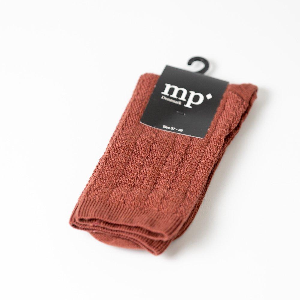 mp'Denmark 59531 ウール混 dark brick