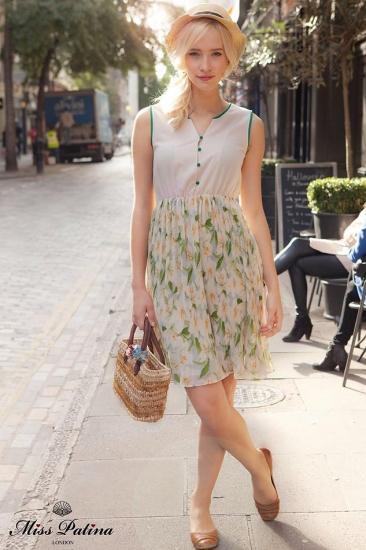 Miss Patina【ミスパティーナ】Field of dreams dress (green)/テイラースウィフト愛用
