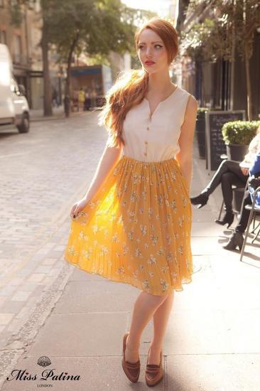 Miss Patina【ミスパティーナ】Field of dreams dress (yellow)/テイラースウィフト愛用
