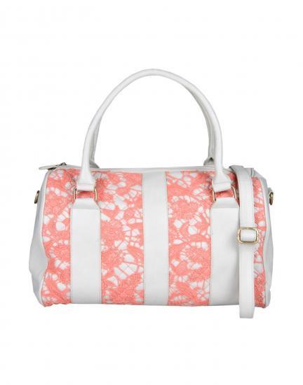 即納OK!Darling【ダーリン】Lace bag (coral)