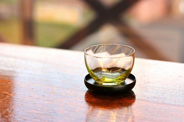 Urushito Glass かぶせ蓋付グラス