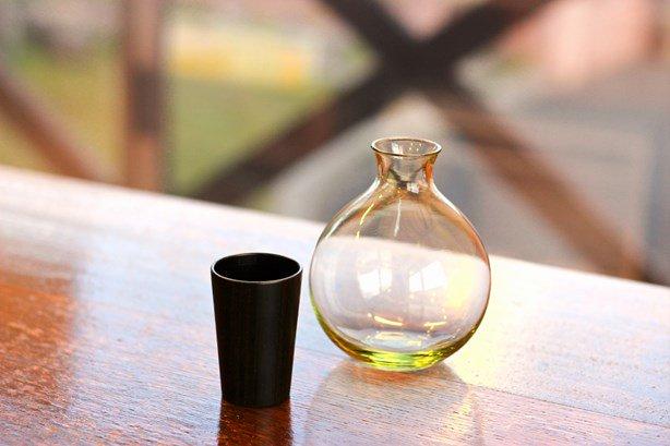 Urushito Glass 丸徳利