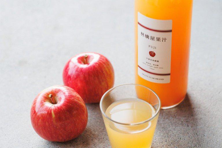 宇津宮果樹園の林檎屋果汁