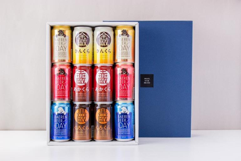 岩手のビール飲み比べ ギフトセットB(5種12缶)