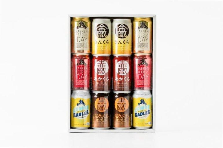 岩手のビール飲み比べ ギフトセットB(6種12缶)