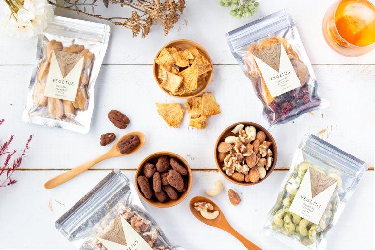 オリジナルフレーバーナッツ|VEGETUS ベジタス