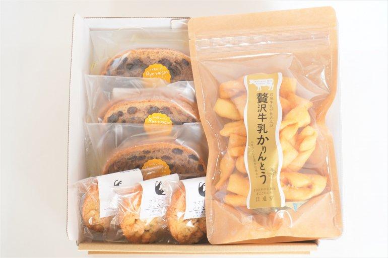 いわてのお菓子【日進堂×シャノアール】オリジナルセット