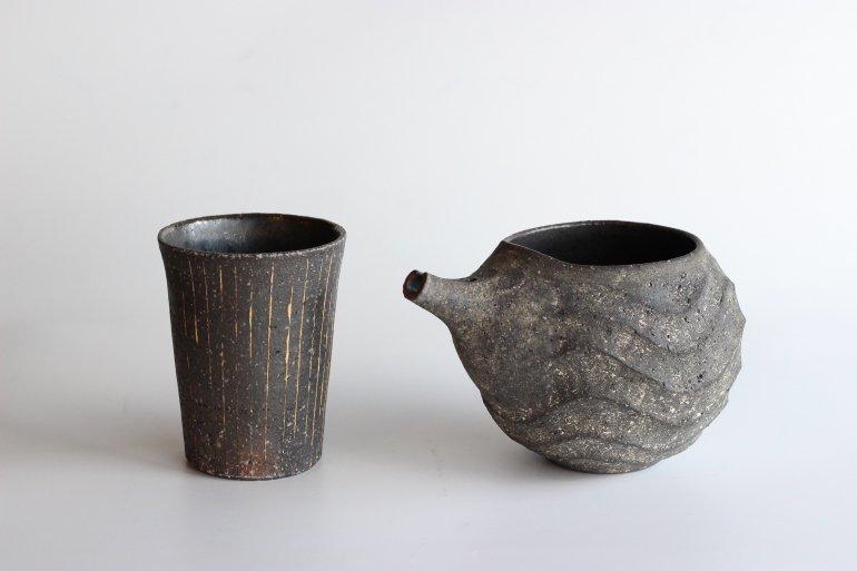 地酒と酒器【陶房金沢】のオリジナルギフトセット