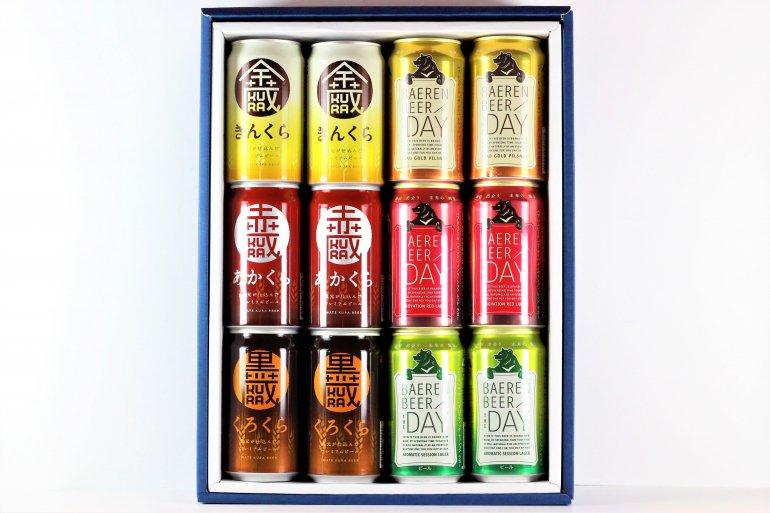 岩手のビール飲み比べ ギフトセットC(6種12缶)