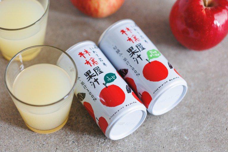林檎屋果汁 缶(単品)|宇津宮果樹園
