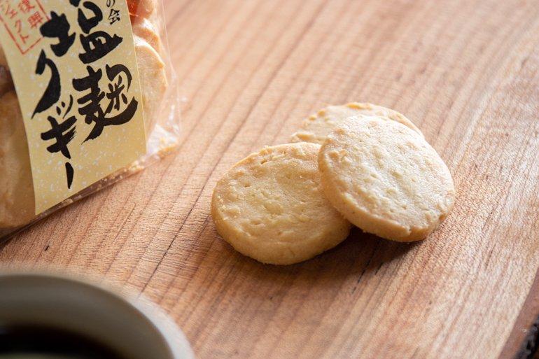 塩麹クッキー|日進堂
