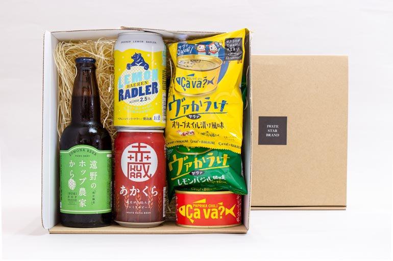 夏のクラフトビールとサヴァ缶つまみセット