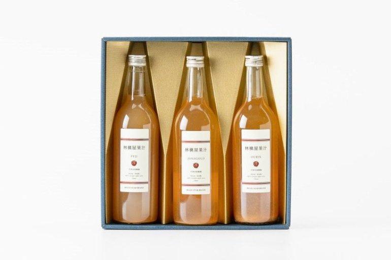 林檎屋果汁3種飲み比べセット