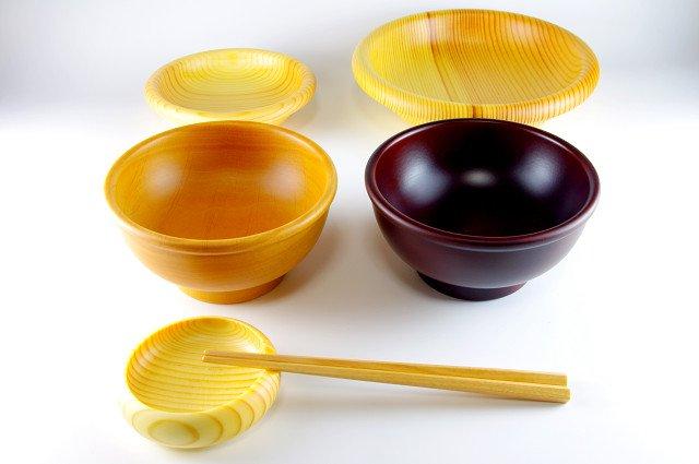 幼児用食器セット (大野木工×プラム工芸)